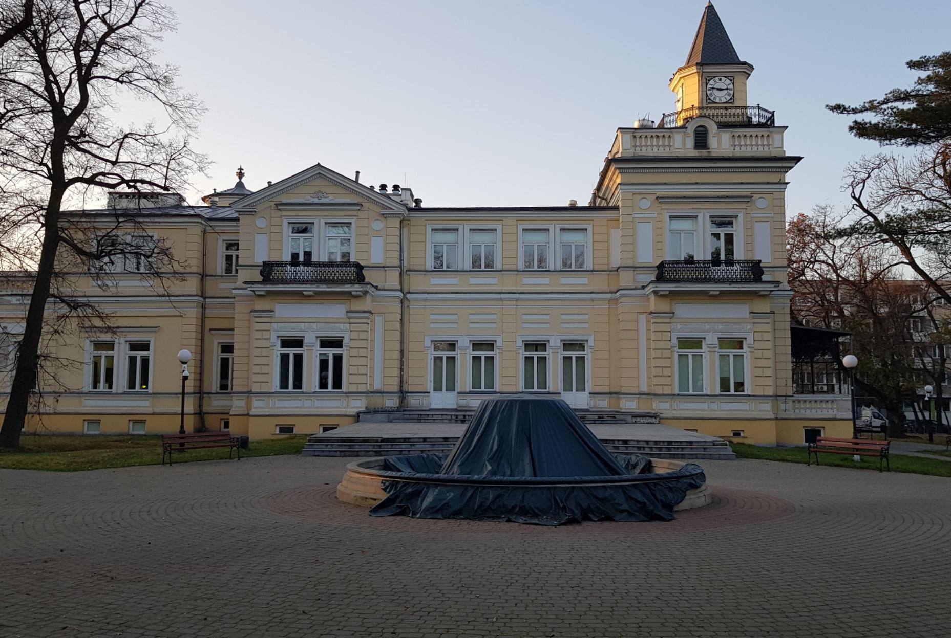 Pałac w Parku Sokoła
