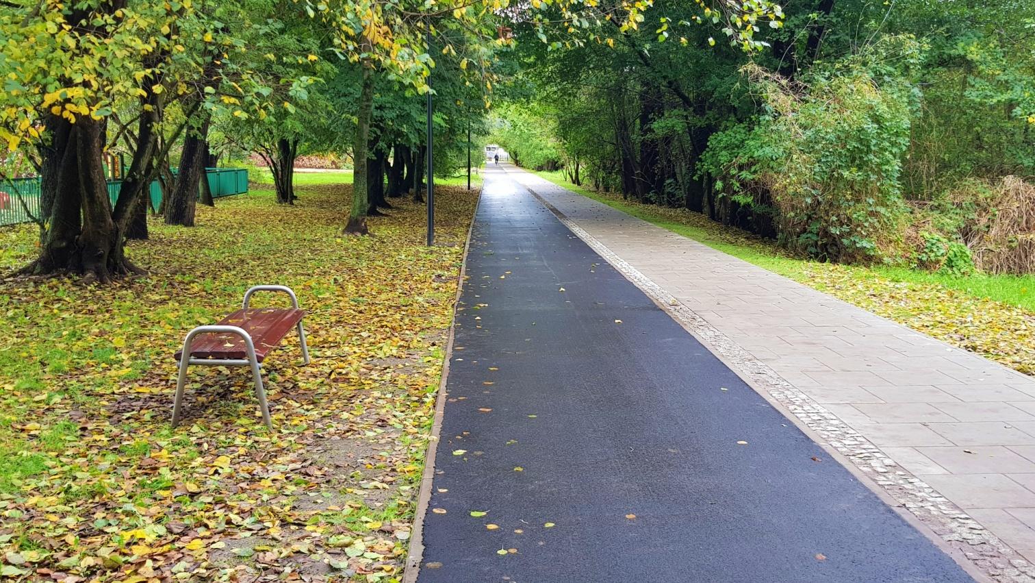 Pruszków - Ścieżka Rowerowa przy ul. Lipowej