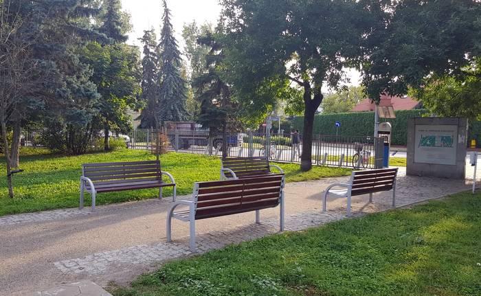 Miejsce Na Kibelek W Parku